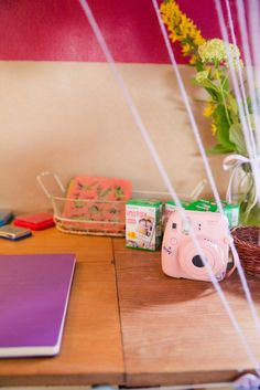 Bazooka Crafts: Our Thrifty & Crafty Wedding ~ Crafty Guestbook with Instax Polaroids