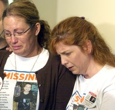 In this June 11, 2010 photo, Desiree Young, left, the mother of missing 7-year-old Kyron Horman, with stepmother Terri Horman.