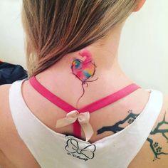 #baloon #watercolorpainting #watercolor #love #aquarela #tattoos #tattoo2me #art #artbr #tattooink #franltattoo #electricink #everlast #ink #tatuagem #like #tattoo #heart
