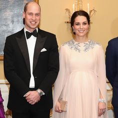 Kate Middleton and Prince William dazzle as guests of honour at royal Norwegian dinner | HELLO! CA