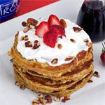 Whole Wheat Vanilla Pancakes