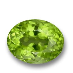 Gem-Quality Olivine (Periodot) - sometimes known as 'Chrysolite' - Found only in Green - #GemSelect: http://www.gemselect.com/peridot/peridot.php