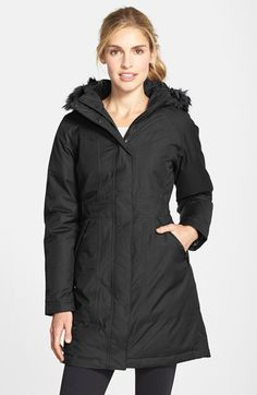 The North Face 'Arctic' Down Parka with Faux Fur Trim available at #Nordstrom