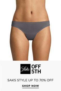 Silky-soft thongs with an ultra-fine knit for a seamless look..Elasticized waistband.Lined gusset.Nylon/spandex.Hand wash.Imported. #CelluliteCream