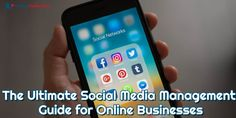 This article is an ultimate guide to social media management for online business owners that will have on your way to build brand awareness, drive sales, and attract new customers. Social Media Pages, Social Media Content, Social Business, Online Business, Content Marketing, Social Media Marketing, Career Options, Online Reviews, Management