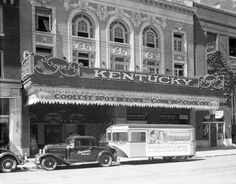 Kentucky Theatre Great 1930 photo with the blade marquee!