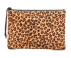 SPLURGE | Oliveve Haircalf Queen Clutch $135