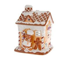 Laurie Greiner Gingerbread House Tart Warmer (QVC)