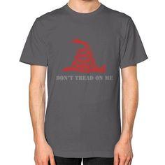 DONT TREAD ON ME Unisex T-Shirt (on man)