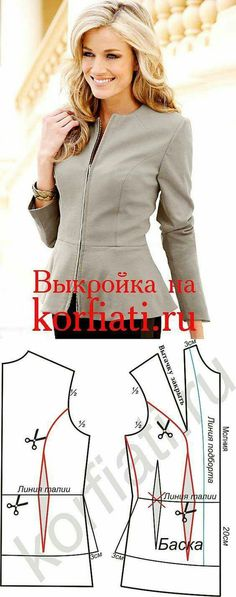 Transformable Coat Sewing Pattern - Coat Patterns - Jacket Patterns - Bolero Pattern - Skirt Patterns - Blazer Pattern - Sewing Tutorials - Sewing E-book Coat Patterns, Blouse Patterns, Sewing Patterns Free, Free Sewing, Clothing Patterns, Sewing Tutorials, Vogue Patterns, Vintage Patterns, Vintage Sewing