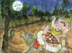 Lord Ganesha He is the son of Goddess Parvati and Lord Shiva, has the blessing that his worship should be performed before all gods. Following are some of the unknown and interesting facts about Lord Ganesha. Broken tusk When Sage Vyasa set out to write Mahabharata, he wanted someone to help him with the writing..…
