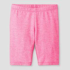 Girls' Bike Shorts Cat & Jack - Pink M, Bali Pink