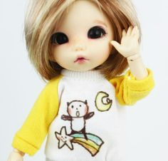 Lati Yellow SP Hujoo Doll T-Strap Yellow Shoes Ankle