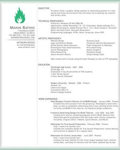 Beautiful Resume Examples  Google Search  Industrial Knowledge