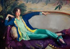 Gertrude Vanderbilt Whitney 1916 by Robert Henri