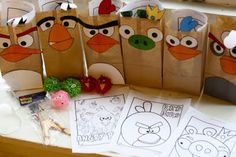 Addicted to ANGRY BIRDS?! Here's a collection of Angry Birds-inspired crafts, games, food ideas, homemade costumes, etc. etc. GREAT site if you are planning an Angry Birds party!