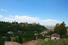 The Alhambra in Granada Spain http://ift.tt/2t2JTEJ