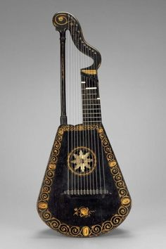 Harp Lute  England, 1815  The Museum of Fine Arts, Boston