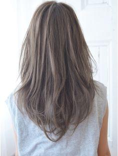 ケアシンサイバシ(CARE shinsaibashi) 【CARE】ゆるカールアッシュグレー Brown Hair Japan, Ash Brown Hair, Brown Hair Colors, Brown Hair Chart, Korean Hair Color, Ashy Hair, Hair Stations, Medium Hair Styles, Long Hair Styles