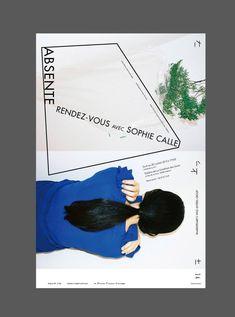 Absente: rendez-vous avec Sophie Calle-Poster