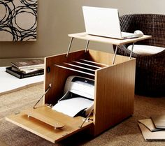 compact tiny office