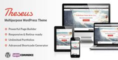 Theseus Wordpresss theme with WooCommerce & WPML integration, lots of shortcodes in Shortcode Generator, amazing Theme Options panel, sliders including background slider and nearly 30 Portfolio layouts. Theseus is perfect in every way and it's truly multipurpose theme.
