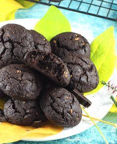 Ciasteczka czekoladowe | AniaGotuje.pl Cookies, Chocolate, Food, Crack Crackers, Biscuits, Essen, Chocolates, Meals, Cookie Recipes