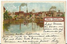 Alt Berlin  Antique Victorian 1898 Postcard Germany by StarPower99, $18.00