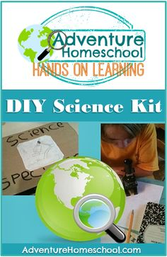 Make Science Fun: Up-cycled specimen kit