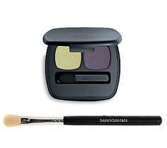 bareMinerals Ready Eyeshadow Duo & Soft Sweep Brush - QVC.com