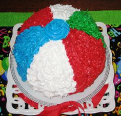summer cakes ideas | summer cake beach sea cakes