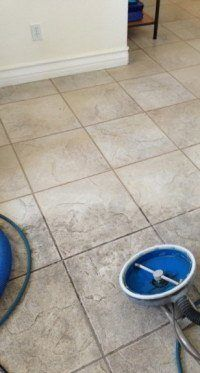 Porcelain Tile Grout Cleaning