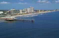 Aerial view of Daytona Beach and the pier....would like to go back soon