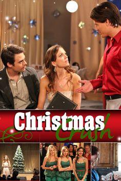 Christmas Crush Movie Poster - Rachel Boston, Jonathan Bennett, Jon Prescott  #ChristmasCrush, #MoviePoster, #MaritaGrabiak, #Romance, #JonPrescott, #JonathanBennett, #RachelBoston