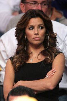 Eva Longoria Photos: Celebrities Attend The Lakers Game