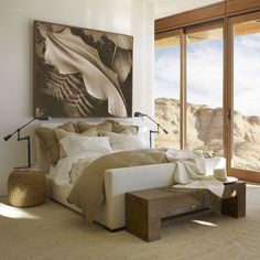 Desert Modern Bed - Beds - Furniture - Products - Ralph Lauren Home - RalphLaurenHome.com