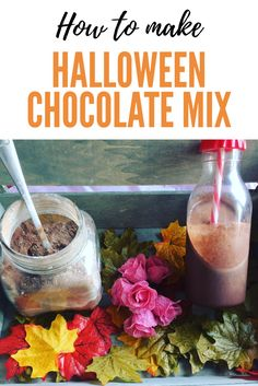 Hot Chocolate and Milkshakre Powder mix with a bit of a warming, spicy kick. Think pumpkin spice hot chocolate at home. Here is my recipe for the ultimate hot chocolate powder. Halloween Themed Food, Halloween Themes, Diy Halloween, Chocolate Powder, Chocolate Mix, Delicious Chocolate, Halloween Chocolate, Chocolate Milkshake, Seasonal Food