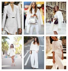 More Than One Love: BLANK CANVAS blogger, closet, colours, designer, Fashion, glamour, inspiration, ladylike, style, suits, White, morethanonelove