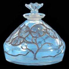 """René Lalique """"Lunaria"""" Art-Glass Perfume Bottle♥❦♥"""