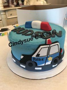 Kids police cake