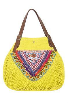 Jo Bag yellow, via Elliot Mann