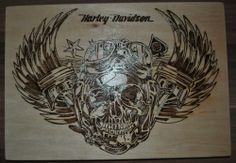"Harley Davidson Brandbild- Motiv ""Skull Master"""