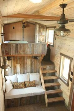 65 cute tiny house ideas & organization tips (64)