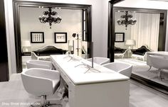 .: Luxurious Hair salon design