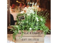 Are you hoping to have a Wedding with a country, rustic theme? If so, I have the perfect item for you. These rustic wedding crates  make a ...
