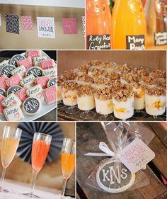 rustic and elegant bridal shower brunch ideas 2014 #weddingshower #elegantweddinginvites