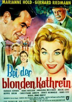Poster zum Film: Bei der blonden Kathrein. 1959