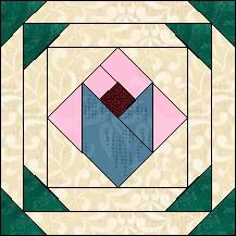 Block of Day for April 27, 2015 - Pineapple Tulip