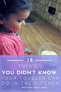 Would you like to teach your toddler or preschooler how to cook but don't know