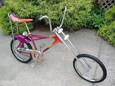 Retro Toys, Vintage Toys, Bike Cart, Lowrider Bike, Chopper Bike, Cargo Bike, Kustom Kulture, Old Bikes, Vintage Bicycles